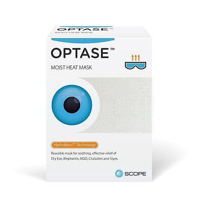 Optase Moist Heat Eye Mask For Blepharitis Meibomian Gland Dysfunction Dry Eye..