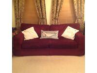 Burgundy Sofa (Free)