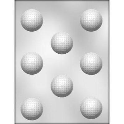 Golf Balls Sports Chocolate Candy Mold from CK #6009 - NEW - Chocolate Sports Balls
