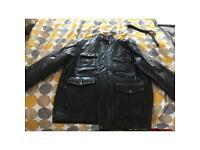 Men's Leather jacket. Medium size