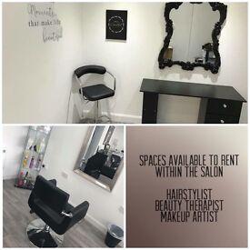 Self Employed Hairstylist & MUA Wanted