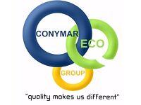 CONYMAR ECO GRUP LTD / external wall insulation, all external & internal trowelwork, painting.