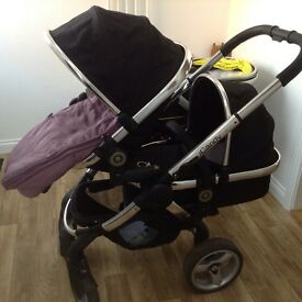 ICandy Peach twin pushchair