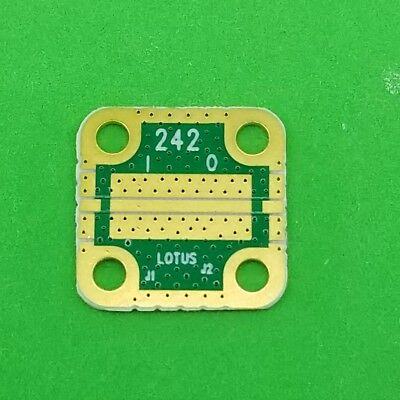 Develop Pcb Ro4350 Grounded Coplanar Waveguide 916x916x0.02 32mil Trace