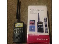Albrecht AE86H Handheld scanner/CB Radio/FM Radio/Airband/4m/2m band...