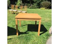 Ikea BJURSTA extendable table and chairs