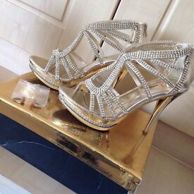 Girls party heel shoes