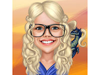 Get your Game of Thrones Caricature for just 16.75 £ per person