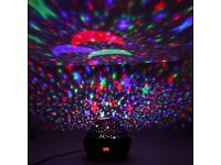 Brand New Star Sky Moon Projector Rotation Night Projection for Children Kids Bedroom