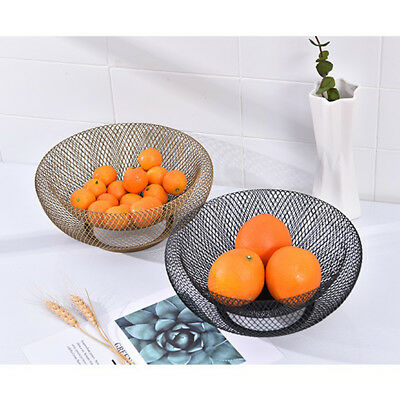 Countertop Fruit Basket Bowl Stand Restaurant Kitchen Vegetable Storage ()
