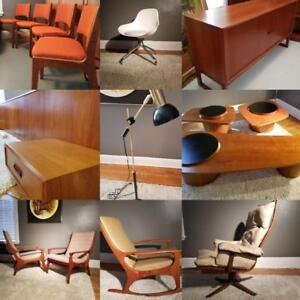 TEAKFINDER'S MID CENTURY MODERN MOVING SALE!  3 DAYS ONLY