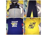 BOYS 8-10 YEARS JOBLOT £12 FOR EVERYTHING PICTURED COLLECTION ONLY L15 NO STAINS ECT ALL REAL