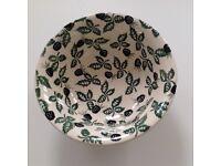 Emma Bridgewater Blackberry design soup / cereal bowl