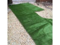 Artificial grass for sale. Top quality , 8 mts approx.
