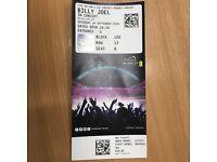 Billy Joel in concert at Wembley Stadium x 2 tickets - Saturday 10th September