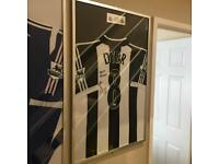 Kieron Dyer Match Worn Signed Shirt