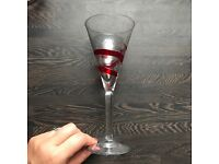 Hand Blown Wine Glasses (4)