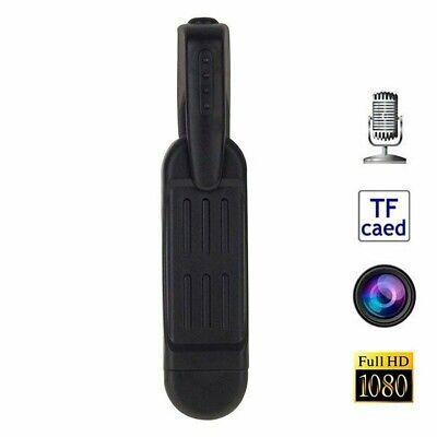 Mini Hidden Body Camera 1080P HD Spy Cam Portable Clip Pocket Pen Recorder