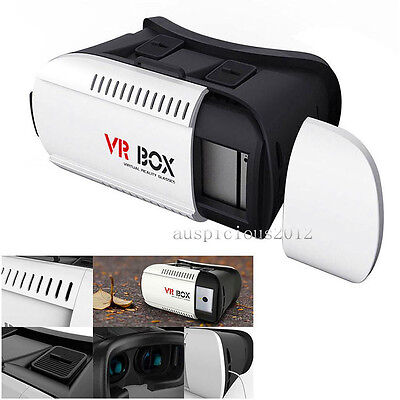 3D VR Glasses BOX Virtual Reality Bluetooth Remote Control for iPhone 7 Plus New