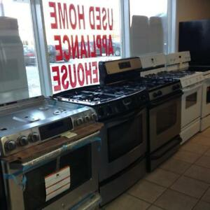 LARGE SELECTION OF REFURBISHED APPLIANCES