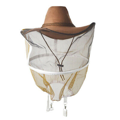 Practical Beekeeping Hat Honey Taking Veil Fave Head Bee Keep Equipment Suit