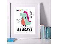 Free Kids Dinosaur Prints
