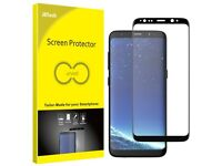 NEW: Galaxy S8 Screen Protector, [Full Coverage & Case Friendly]