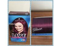 *Brand New* XXL ultra violet hair dye.