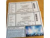 2 Kaiser Chiefs Tickets Plymouth