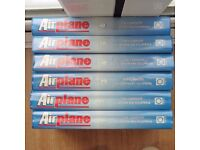 Airplane Magazines Parts 1 to 72 in six binders