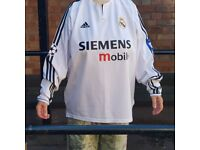 Retro Beckham Real Madrid Shirt