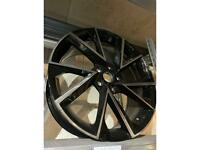 "19"" alloy wheels alloys rims tyres fits Vw Volkswagen seat Skoda vrs Audi"