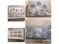 Canvas prints photo frame
