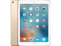 iPad Pro 9.7, 128GB, GOLD, Wifi & Cellular 4G locked to O2