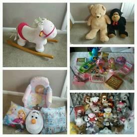 Massive girls toy bundle disney frozen vtech mamas and papas must go