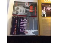 Elvis the King of rock n roll destination Vegas DVD plus book Elvis tfrom Memphis to Hollywood