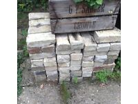 Cambridge bricks for sale, about 300 in total, 50p each