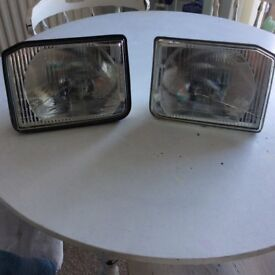 Landrover Discovery 1. LHD head lights