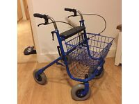 Shopper mobility aid shopper basket, collection from Bramhope, LS16