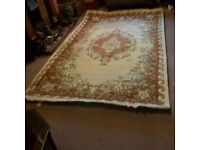 Large Indian Wool Rug