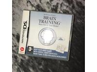 Brain Training Nintendo DS game
