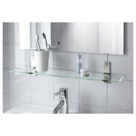 BRAND NEW, UNOPENED 60cm Stainless Steel Wall Shelf BATH + KITCHEN, DELIVERY POSSIBLE