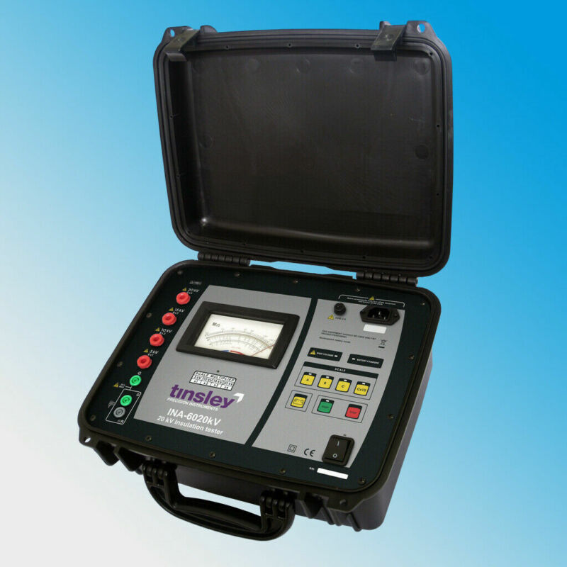 Tinsley INA-6020 20kV Analogue Insulation Tester 20kV Megohmmeter