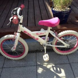 Girls bike (siverfox) bargain