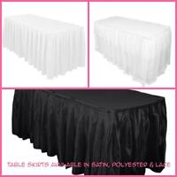 Table skirts available for RENT