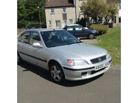 X Reg Honda Civic 1.4 S Low Mileage, Reliable, Mot till Nov only £500