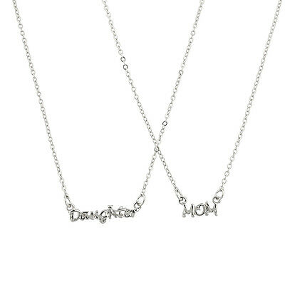 Lux Accessories Daughter Mom Mother Mommy BFF Best Friends Forever Necklace (Mother Daughter Best Friends)