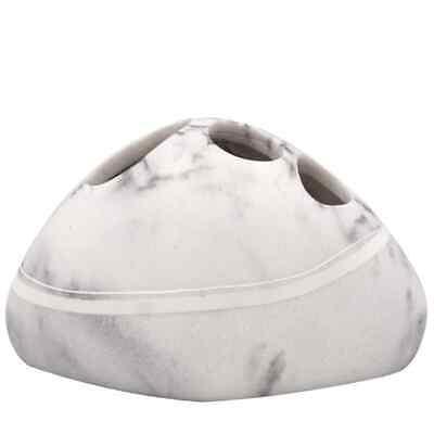 RIDDER Portacepillos de Dientes Blanco Soporte Taza Vaso para Cepillos en Baño