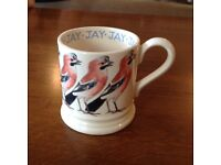 Emma Bridgewater Jay 1/2 Pint Mug New