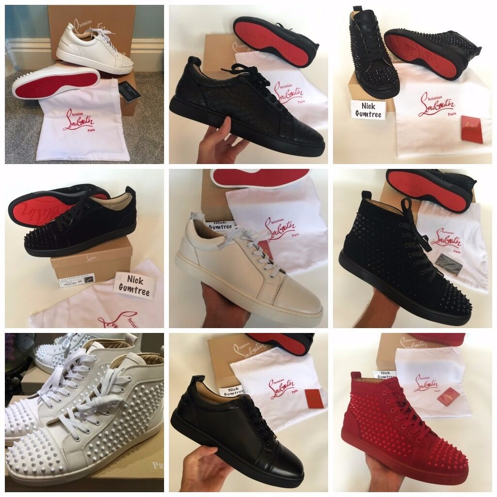 6809d61b091 sweden mens louboutin red bottom sneakers ebc4f 710c3
